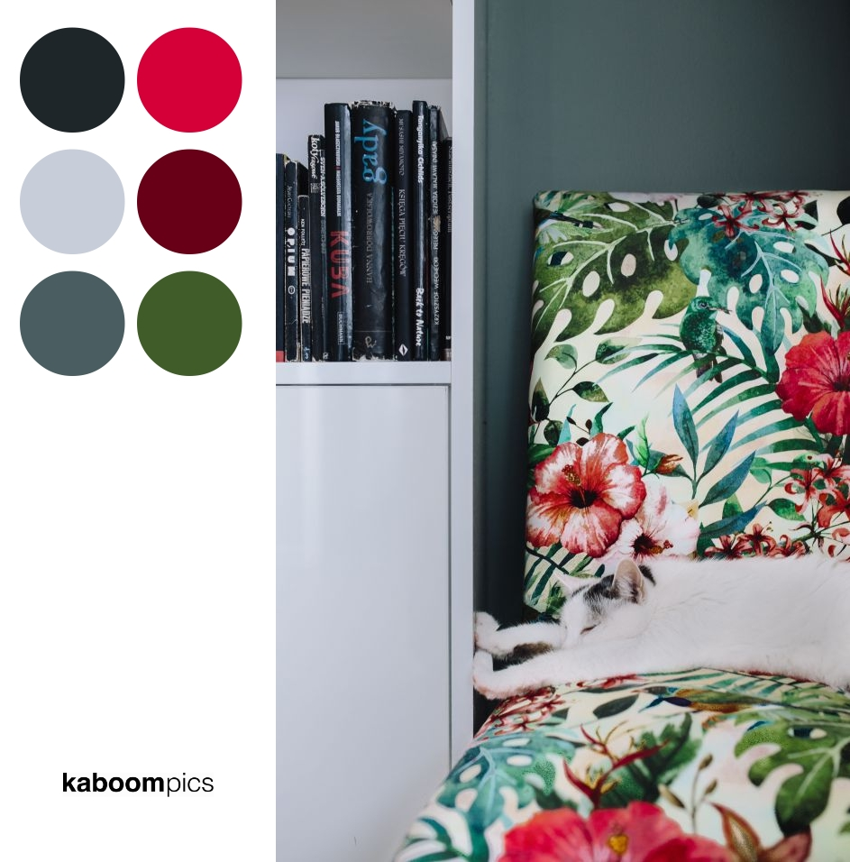 Color Scheme Inspiration - ESSENTIAL ELEMENT TO SUPPORT A WALL UNIT - THE CAT