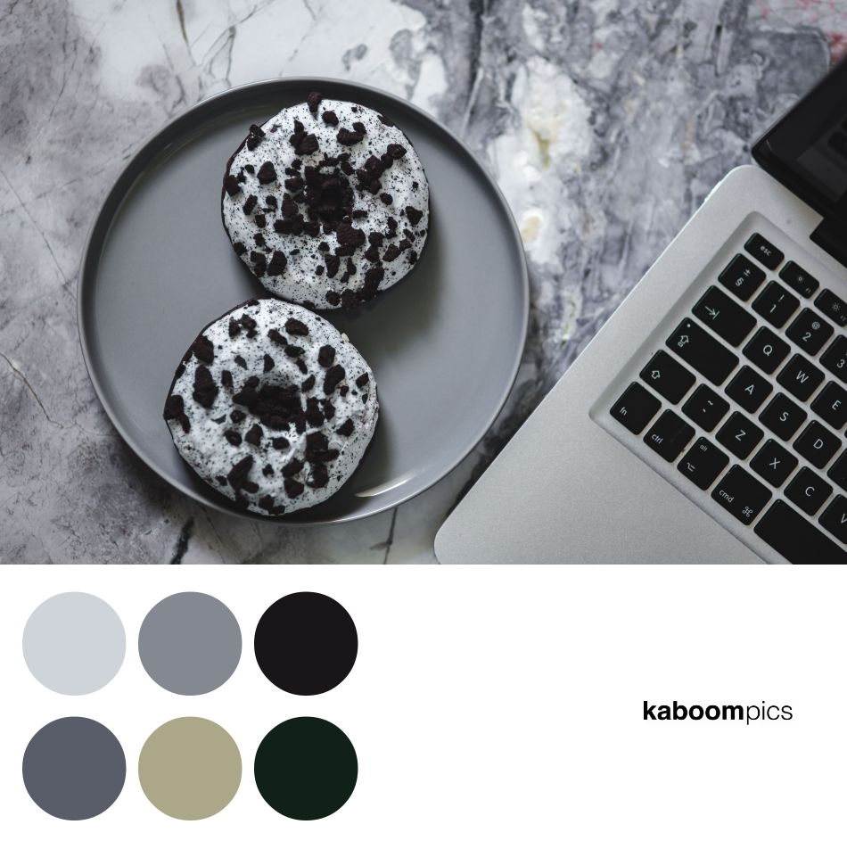 Color Scheme Inspiration - COLORFUL DONUTS